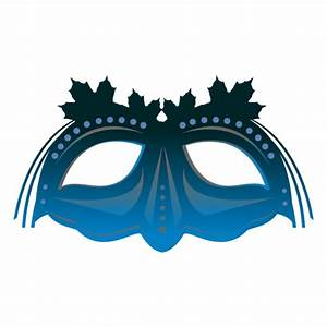Turquoise carnival mask - Transparent PNG & SVG vector