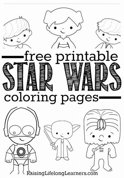 Wars Coloring Star Printable Pages Sheets Fans