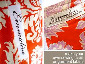 Emmaline bags sewing patterns and purse supplies make for Fabric craft labels