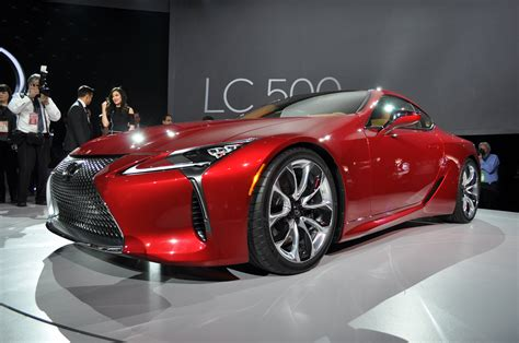lexus bow 2018 lexus lc coupe bows with v 8 power 10 speed auto