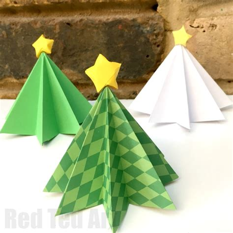 step by step christmas tree oragami wiki with pics tree origami for ted s