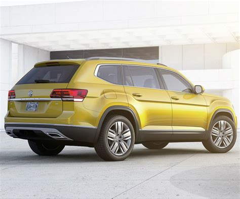 atlas volkswagen price new vw atlas is the first ever 7 seat suv of the brand