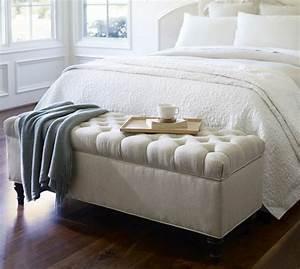 Lit Banquette Blanc : banc de lit ikea ~ Teatrodelosmanantiales.com Idées de Décoration