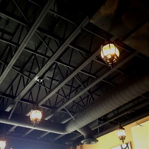 black ceiling paint 36 practical and stylish basement ceiling d 233 cor ideas shelterness