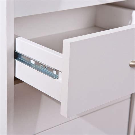 tiroirs bureau caisson de bureau 4 tiroirs quot quot blanc