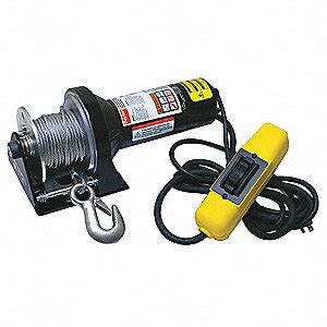 dayton 115vac pulling electric winch with 13 0 fpm and
