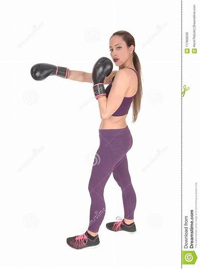Workout Outfit Woman Boxing Slim Outfits Exercise
