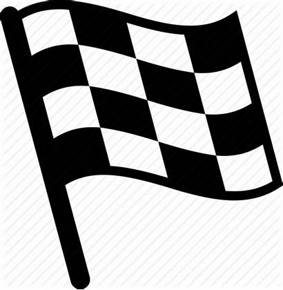 Flag Finish Icon Checkered Icons Clipart Racing