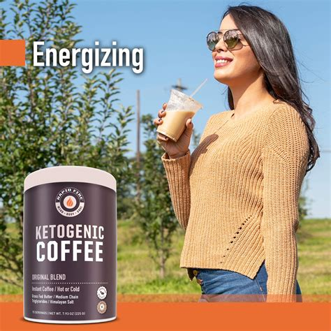 They find it easy to use and the effects long lasting. Rapid Fire Ketogenic Fair Trade Instant Keto Coffee Mix, Supports Energy & Metabolism, Weight ...