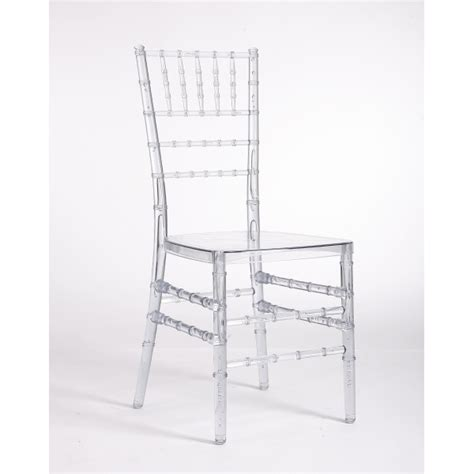 clear acrylic resin stacking chiavari chair depot