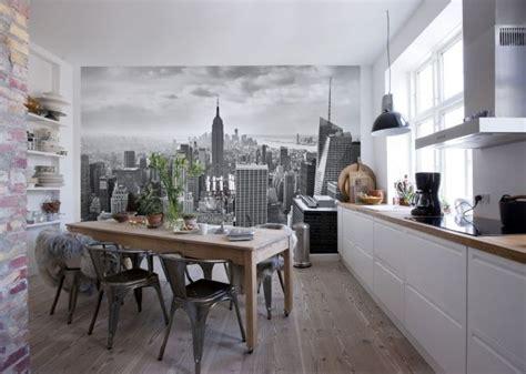 papier peint pour cuisine blanche 25 best ideas about papier peint brique blanche on