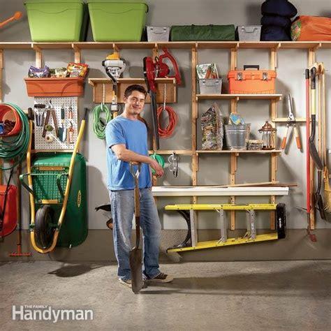 garage shelving systems diy garage organizer on garage organization