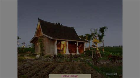 desain rumah sederhana  desa youtube
