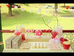 Garden Party Decorations I Garden Party Buffet Ideas - YouTube