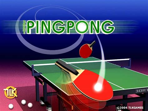 3drt pingpong a pc table tennis intuitive and complete free free