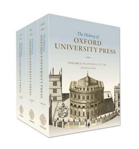 Oxford Press Copy by History Of Oxford Press Ian Gadd 9780198702795