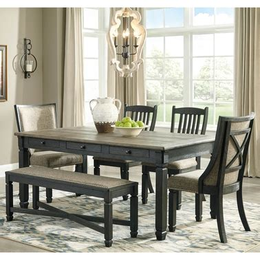 signature design  ashley tyler creek  pc dining room table set dining sets home