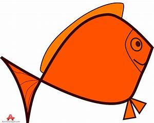 Orange Fish Clipart | Free download on ClipArtMag