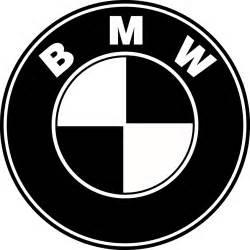 BMW Logo Black and White
