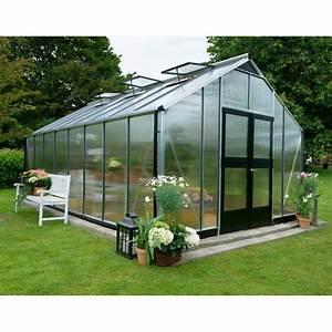 Serre De Jardin Polycarbonate : serre de jardin 18 8m en polycarbonate gardener juliana ~ Dailycaller-alerts.com Idées de Décoration