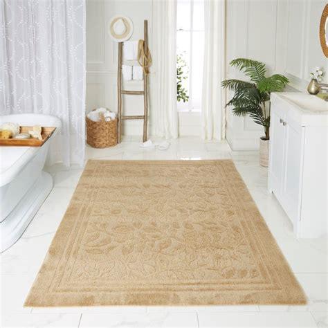 mohawk home wellington deep sand bath rug area rug