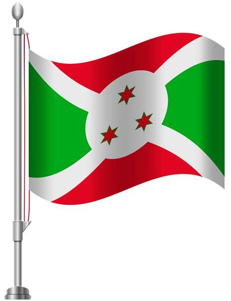 Burundi Flag PNG Clip Art - Best WEB Clipart
