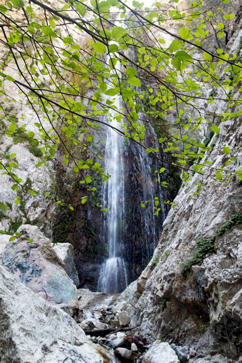 bonita falls  lytle creek  foot waterfall