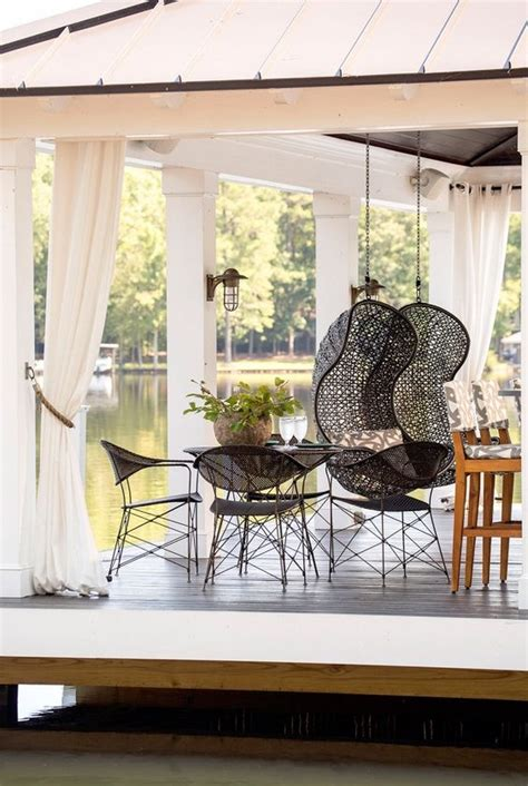 comfy  stylish outdoor hanging chairs gardenoholic