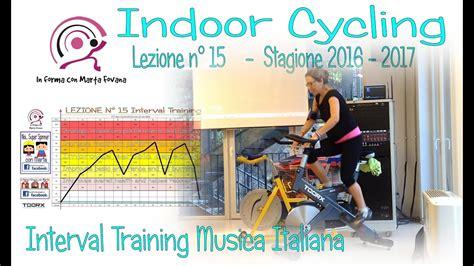 15 In sella con Marta Fovana Interval Training musica ...