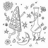 Weed Coloring Pages Cannabis Stoner Smoking Stoners Cool Printable Drawings Leaf Kinky Colorings Template Getdrawings Grinch Getcolorings Designlooter Popular Imgur sketch template