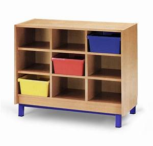 meuble casier 9 cases mobilier maternelle mobilier With meuble casier