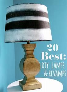 Diy, Lamp, U0026, Makeover, Ideas