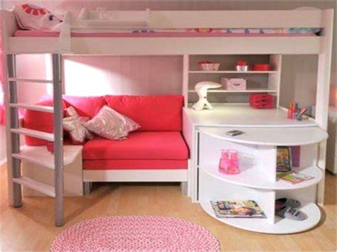 bunk beds with desk and sofa bed room decors and