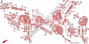 Carburetor  Component Parts  For Honda Vfr 750 1993