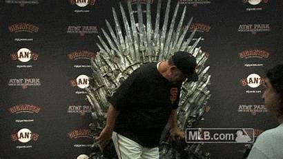 Throne Bochy Bruce Postgame Conference Iron Press