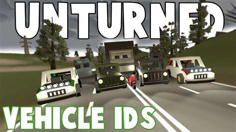 france vehicle ids unturned youtube