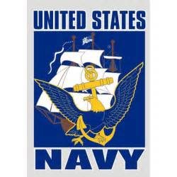 United States Navy Eagle and Anchor Logo