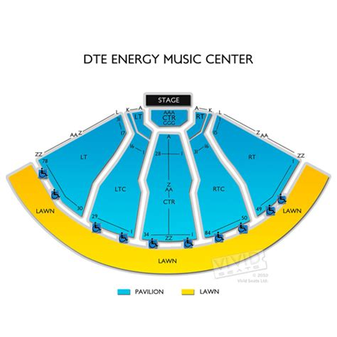 DTE Energy Music Theatre Tickets - DTE Energy Music ...