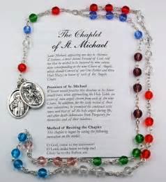 St. Michael Chaplet  - Multi Color