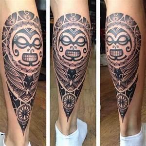 Tatouage Tribal Maorie : lifestyle tatouage polynesien mollet homme tattoo maorie ~ Melissatoandfro.com Idées de Décoration