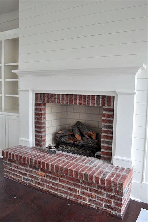 Inspiring Red Brick Fireplace Makeover Ideas Ideas