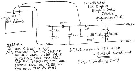 Dali Lighting Control Wiring Diagram Sample