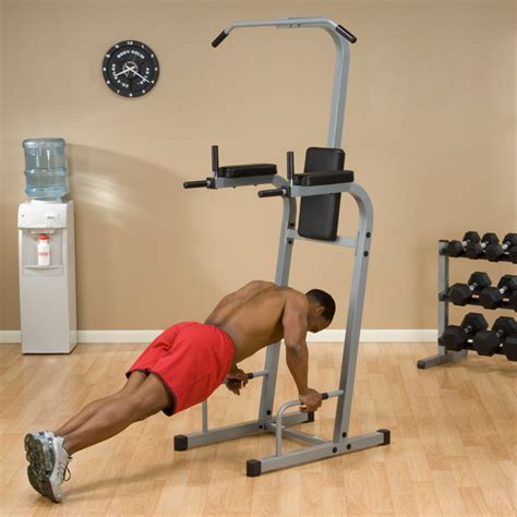 powerline vertical knee raise and dip station fitness factory outlet