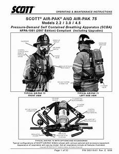 Air-pak 75 Scba - User Manual By Eddie Wong