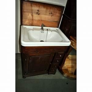 meuble salle de bain ancien meuble salle bain ancien sur With meuble salle de bain ancien occasion