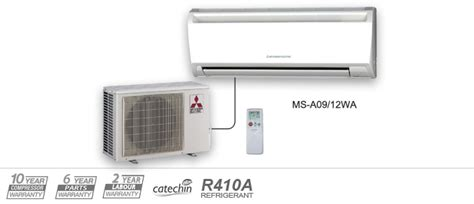 Mitsubishi Mr Slim M-series Ductless Air Conditioners