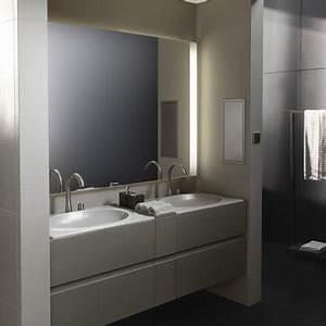 salle de bains armani et roca armani roca marie claire With meuble salle de bain roca