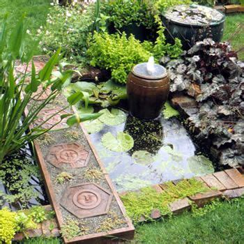 Small Outdoor Garden Decor