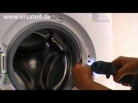 anleitung t 252 rverriegelung der waschmaschine wechseln