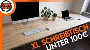 Schreibtisch Selbst Bauen : xl schreibtisch f r 100 selber bauen f r anf nger youtube ~ A.2002-acura-tl-radio.info Haus und Dekorationen